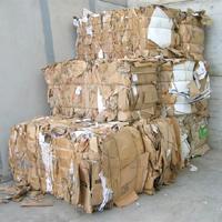 We recycle cardboard